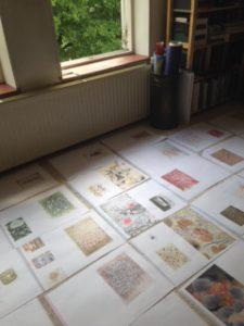 Caroline Serton proefdrukken boek Florance