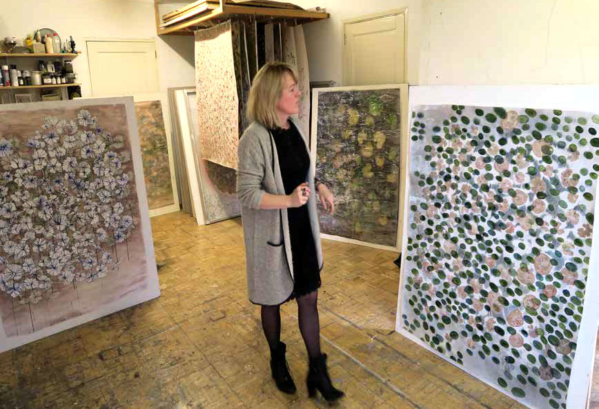 Caroline Serton - beeldend kunstenaar-atelier